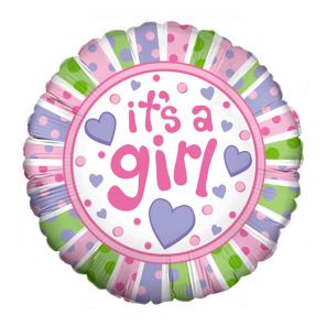 "Baby ""It's a Girl"" Balloon"